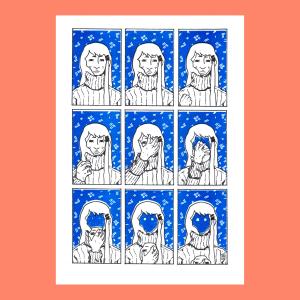 Faceless Print