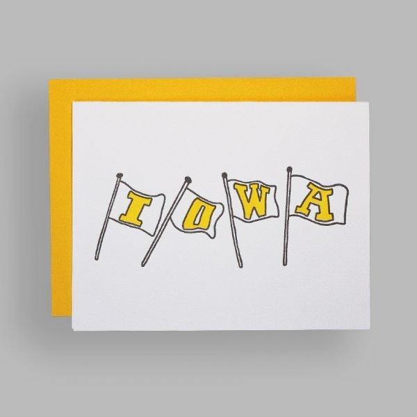 Creative Goods, Iowa Card A5