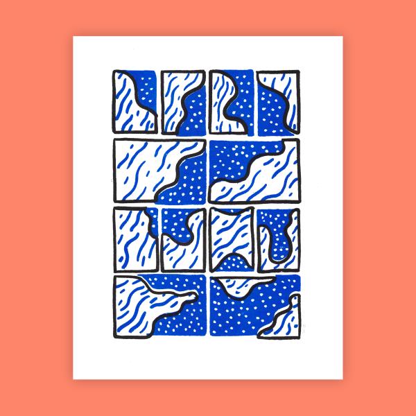 Mycelia Print