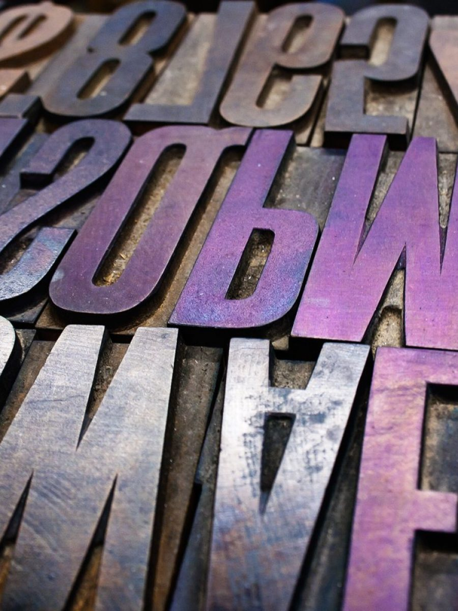 Woodtype for custom letterpress printing and design